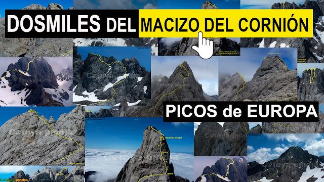 Dosmiles del Macizo del Cornión en Picos de Europa