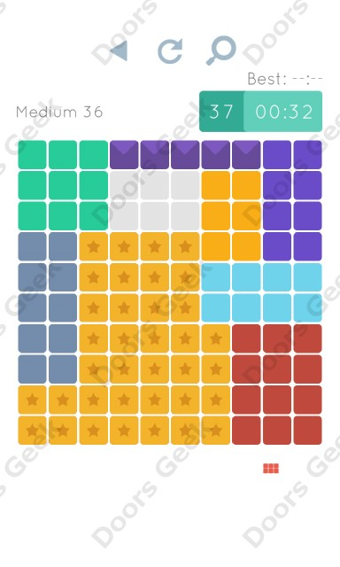 Cheats, Walkthrough for Blocks and Shapes Medium Level 36