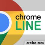 Logo Cara Memasang Ekstensi Line di Browser Chrome - Komputer