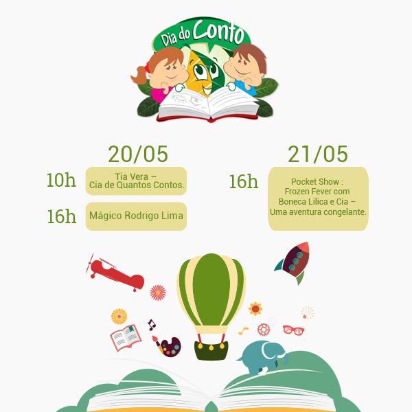 Dia do Conto na Programação na Livraria Jaqueira