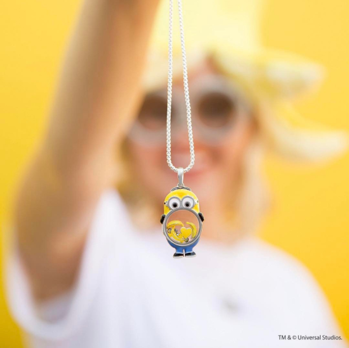 Despicable me minion origami owl lockets charms - Imitation origami owl ...
