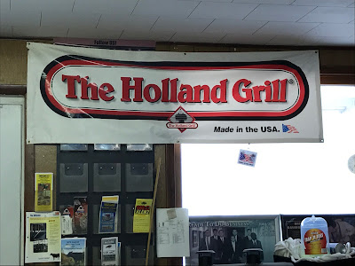 Wayne Feed Services Holland Grill Sign