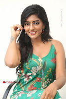 Actress Eesha Latest Pos in Green Floral Jumpsuit at Darshakudu Movie Teaser Launch .COM 0182.JPG