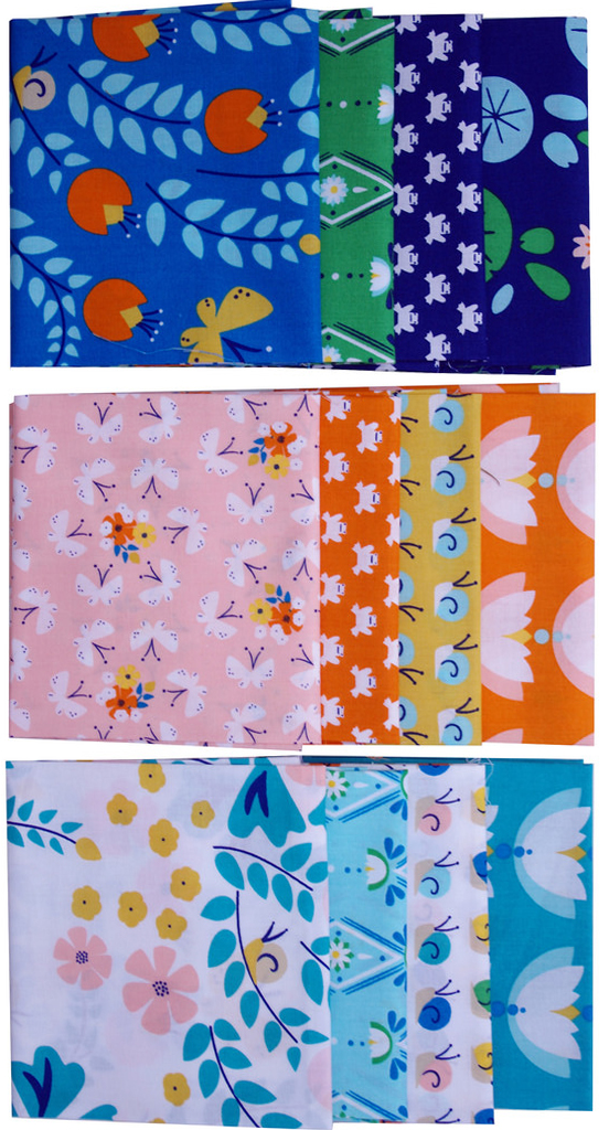 Lotus Pond by Rae Hoekstra for Cloud9 Fabrics
