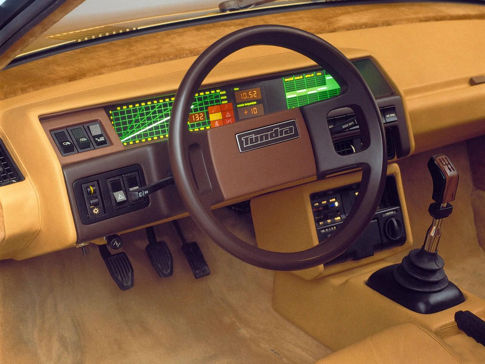 interior toyota tundra car