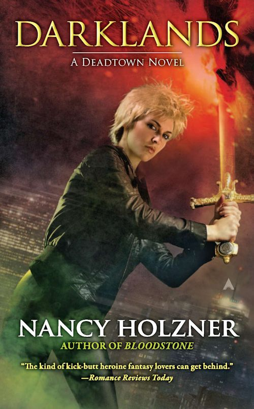 Review:  Darklands (Deadtown 4) by Nancy Holzner