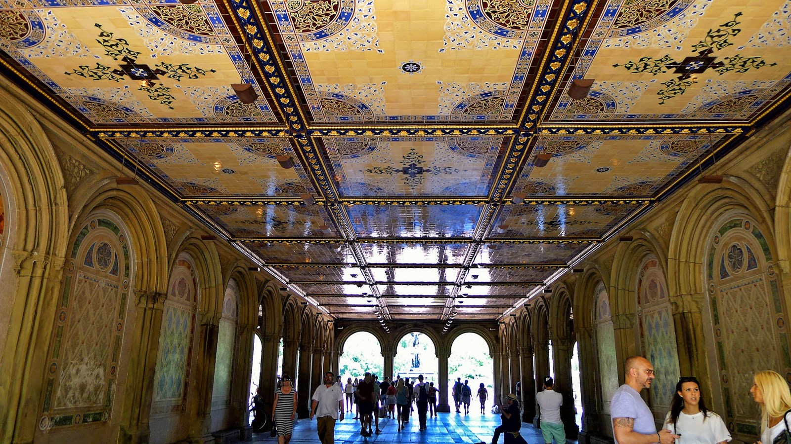 architectural tiles, glass and ornamentation in new york: the