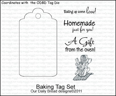 Our Daily Bread designs Baking Tag Set