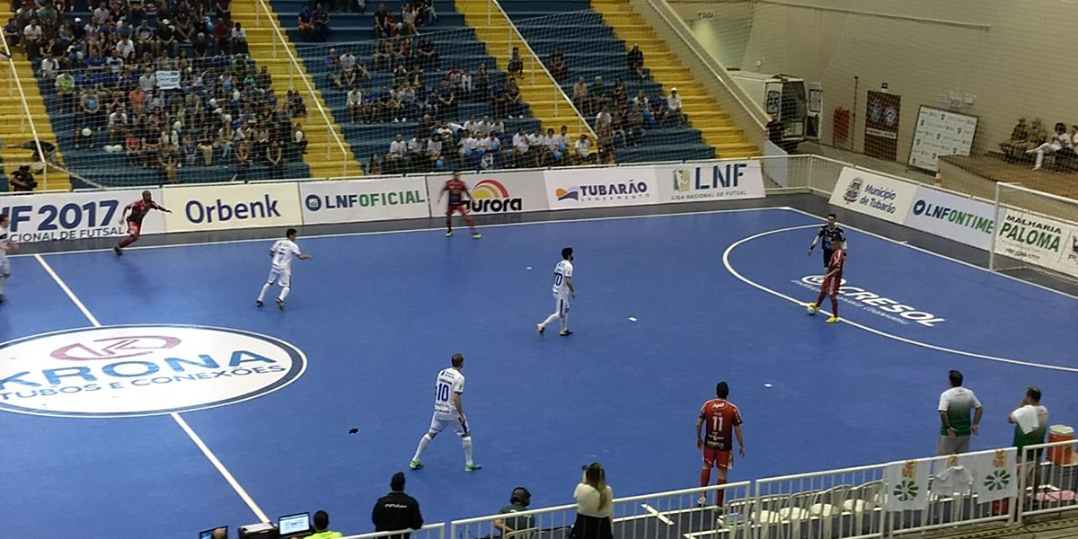 ee3de807e89c3 Tubarão Futsal perde em casa para o Atlântico pela LNF