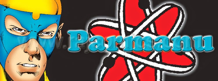 Parmanu Banner Raj Comics