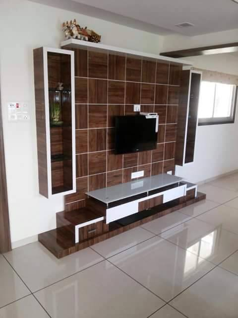 Innovative Wall Decorations For TV Unit Designs Home Decor