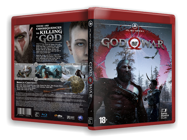 Capa God Of War PS4