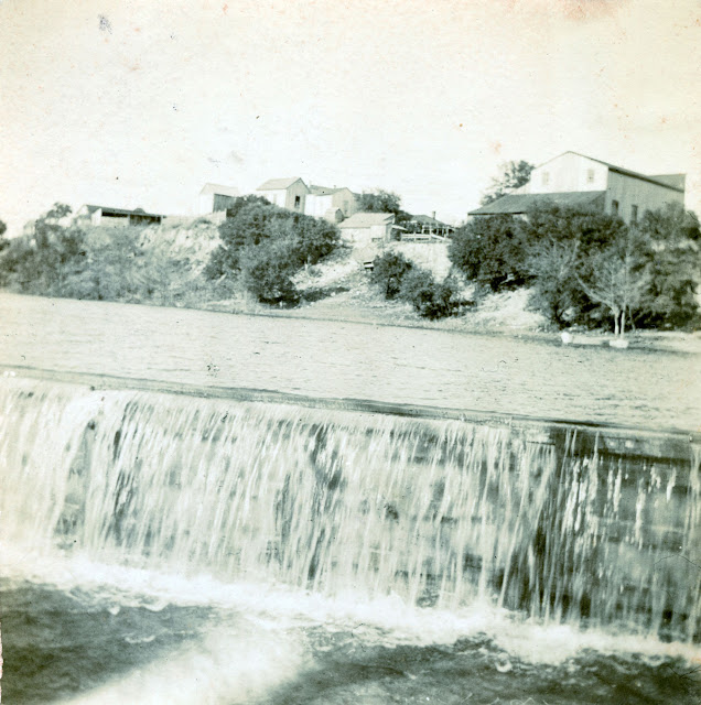 Kerrville, from the river, 1897