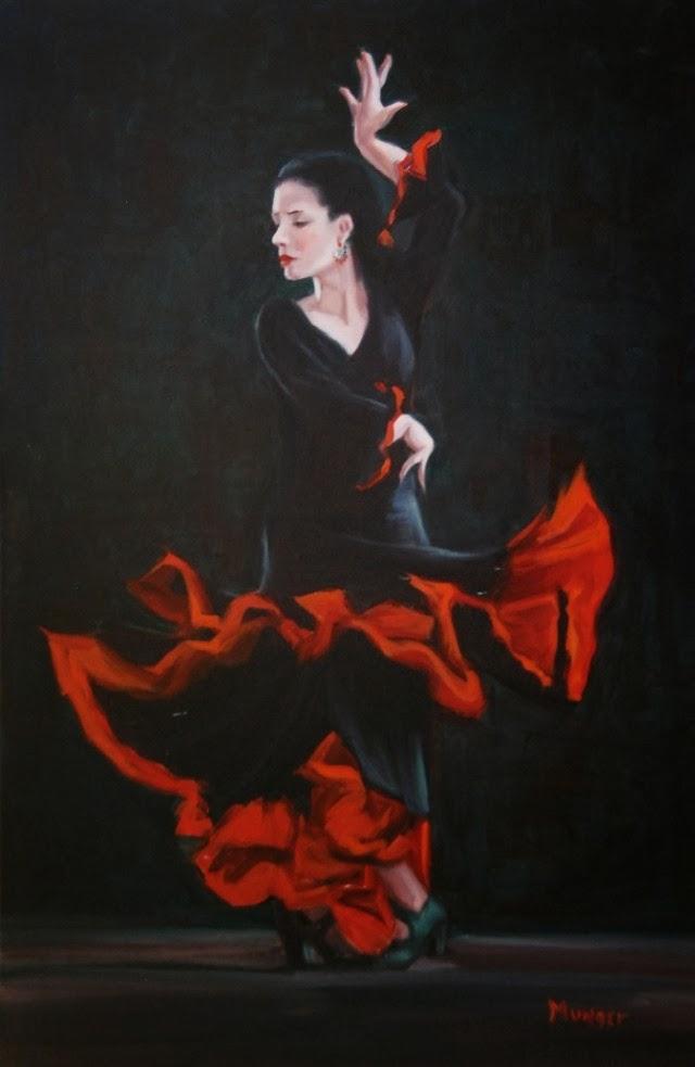 Момент в движении. Roseann Munger