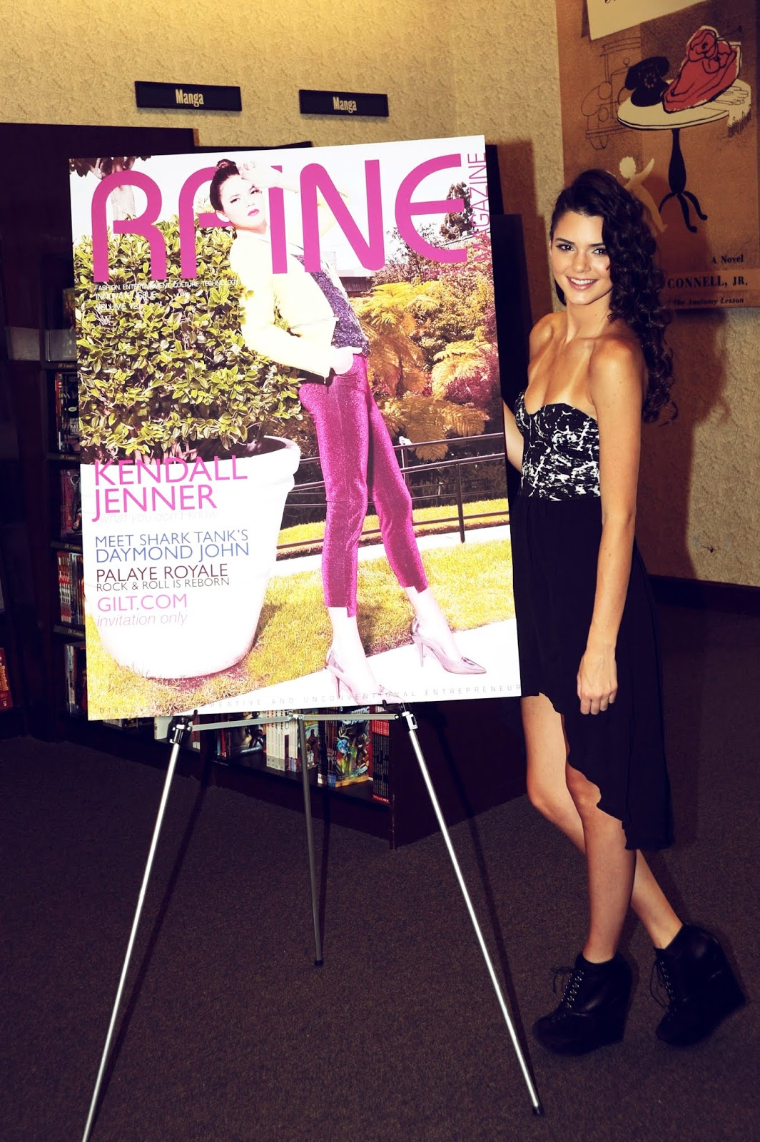 28- Signing and Autograph RAINE Magazine at Barnes & Noble on August 18, 2012