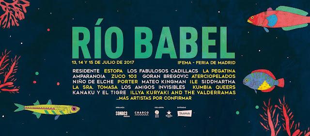 Festival, Río, Babel, 2017, Madrid, Concierto