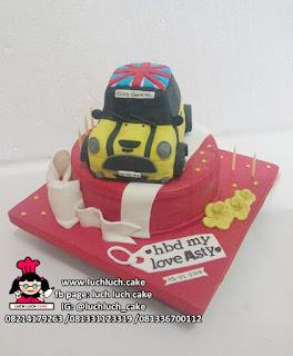Kue Tart Mobil Mini Cooper 3D