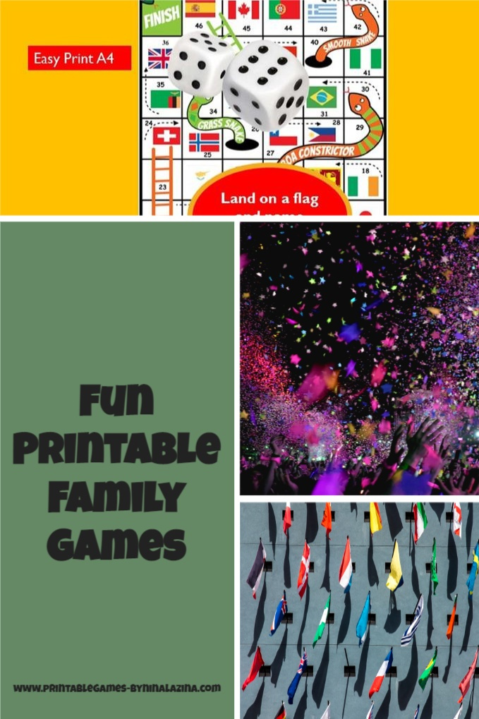 SHOP- Fun Printable Games
