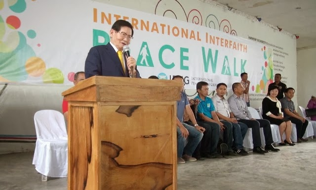 Korean Manhee Lee leads Peace movement in Mindanao
