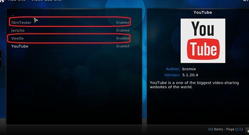 تركيب إضافة jericho لمشاهدة أفضل القنوات العالمية على برنامج Kodi
