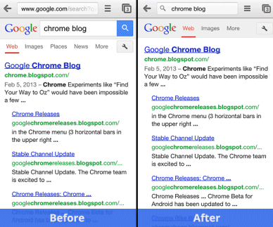 how to delete web page from google search on android