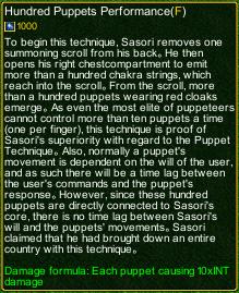 naruto castle defense 6.0 Sasori Hundred Puppets Performance detail