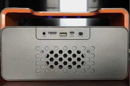 Tylex DY25 Mini HiFi Bluetooth Speaker - Back