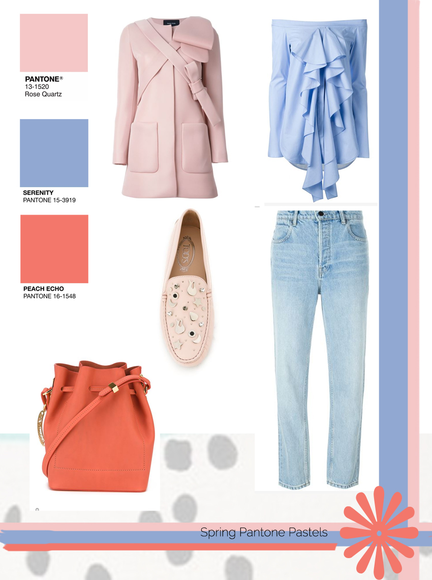 Pantone Pastels outfit With Farfetch.com