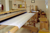 The room where member can go use the looms to create many different products
