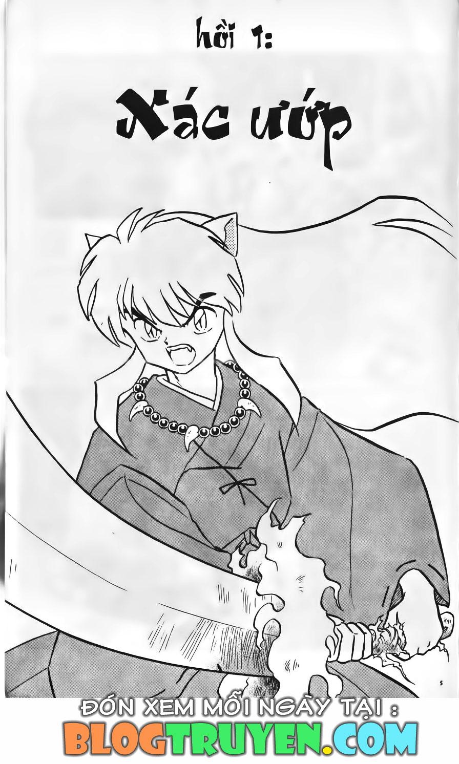 Inuyasha vol 10.1 trang 4