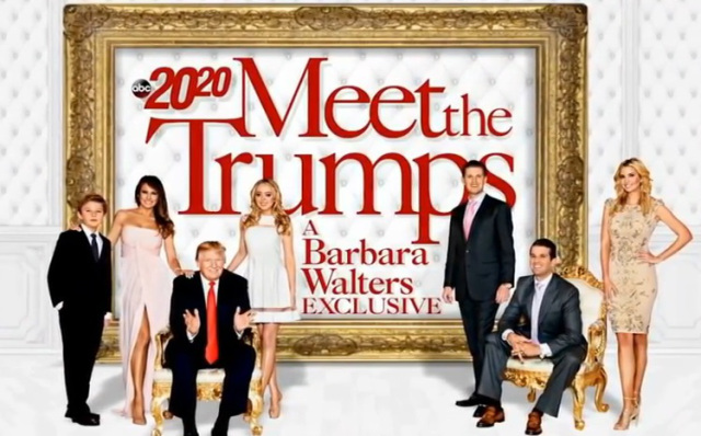 Meet the Trumps a Barbara Walters exclusive.