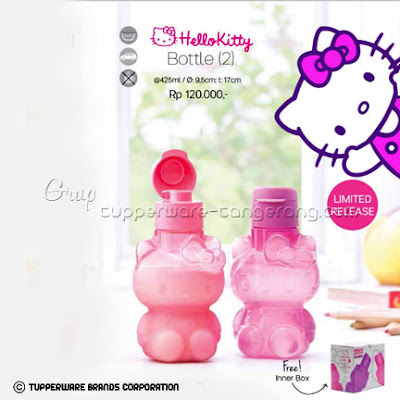 Hello Kitty Bottle ~ Katalog Tupperware Promo Mei 2016