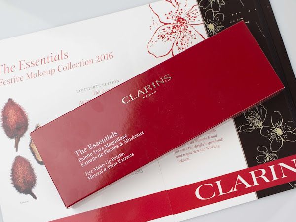 Clarins // The Essentials 2016 Lidschattenpalette