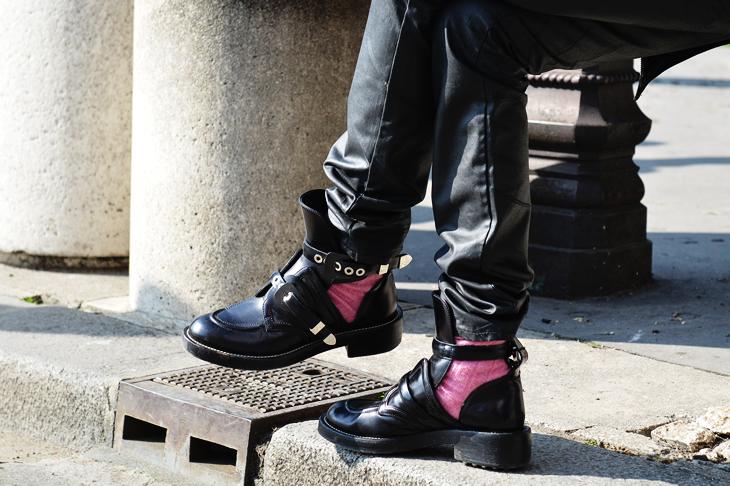 ... Balenciaga Cutout Boots that look pretty much beyond on everything    everyone……. I dont usually show much interest in boots unless they re Doc  Martens ... a4fe791a1e37