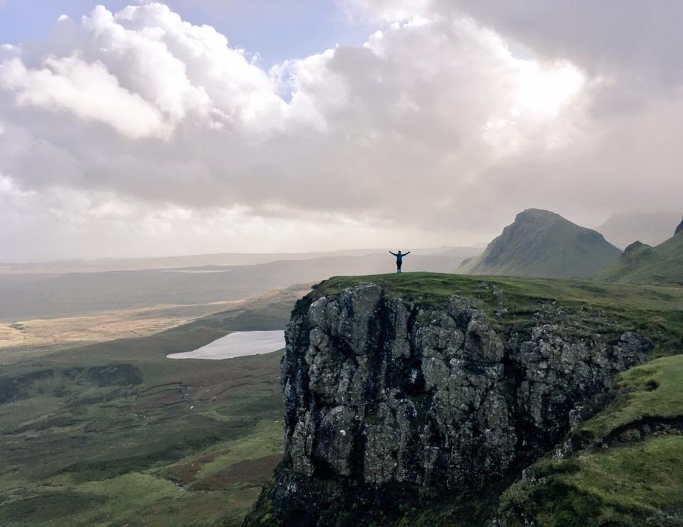 FitBits | The Quiraing in Skye - 2017 year review - Tess Agnew fitness blogger