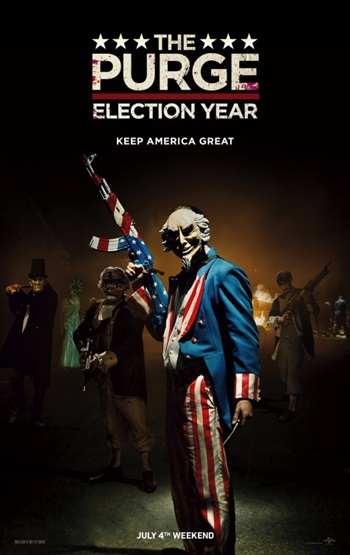 The Purge Election Year 2016 English 720p WEB-DL 850MB ESubs