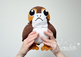 Krawka: PORG from new star wars movie crochet pattern by Krawka