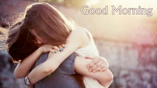 Romantic Good Morning Hug Photo of Lovers