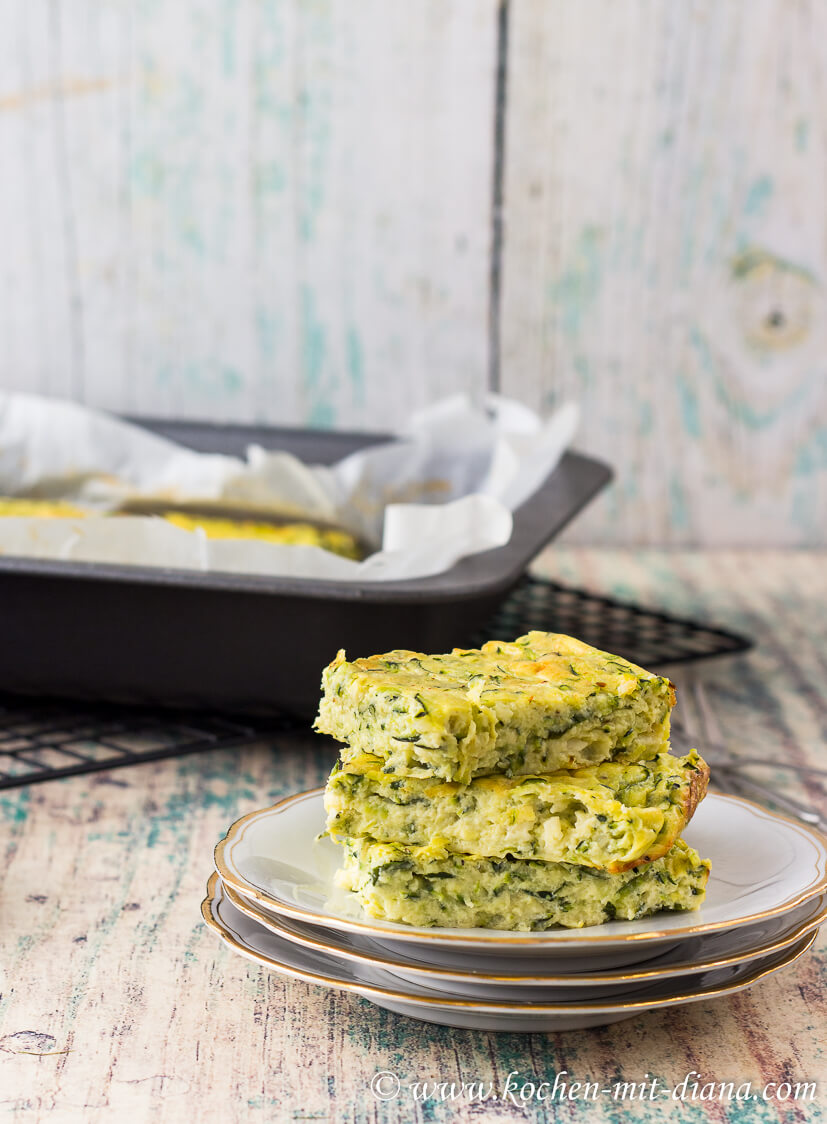 Zucchini-Bärlauch Quiche