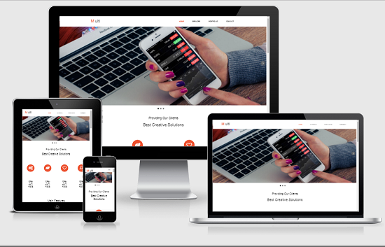 Website Like Blogger Templates100 Responsive Techinfoweb
