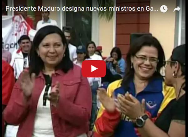 Movida de mata en el Gabinete de Nicolás Maduro