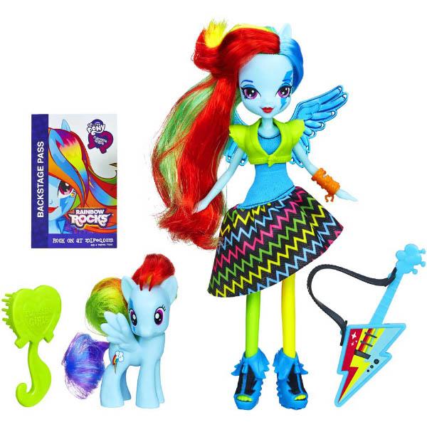 My Little Pony Equestria Girls Rainbow Rocks Doll Set Dash