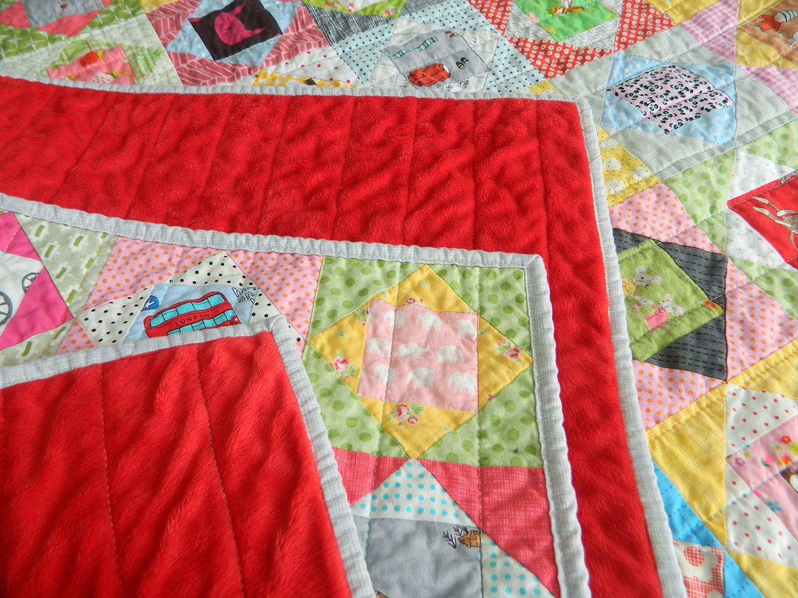 S O T A K Handmade Backing Quilts With Minky