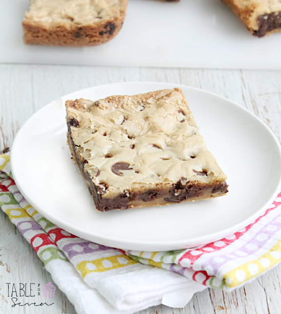 One Bowl Chocolate Chip Blondies