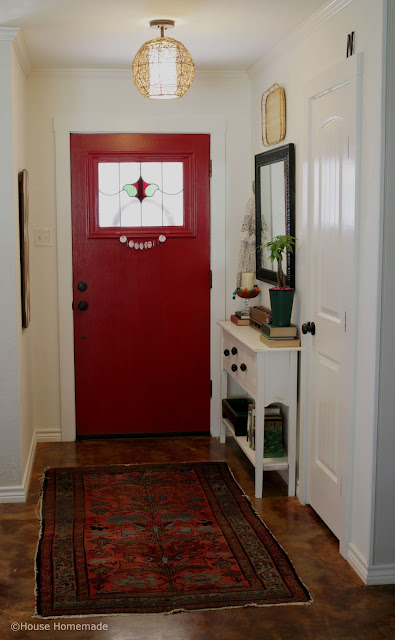 Light, bright and FREE entryway makeover