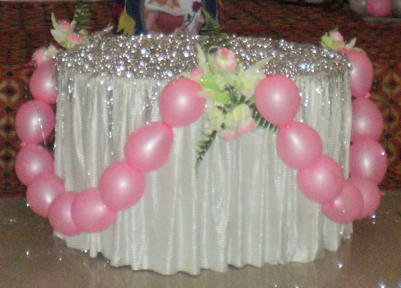Table Decoration On Birthday