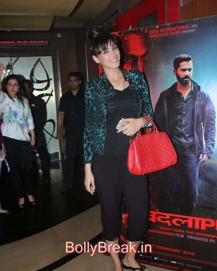 Nargis Fakhri, Hot Images OF Manasvi Mamgai, Huma Qureshi, Sonakshi Sinha At  'Badlapur' Special Screening