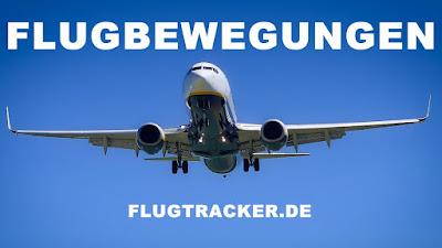 Flugzeugradar - Flug beobachten