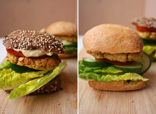 vegan, chickpea, burgers, gluten-free, bun