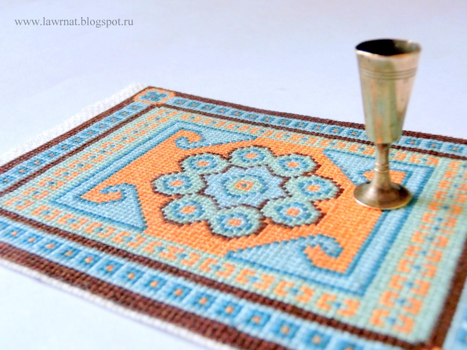 вышитые ковры